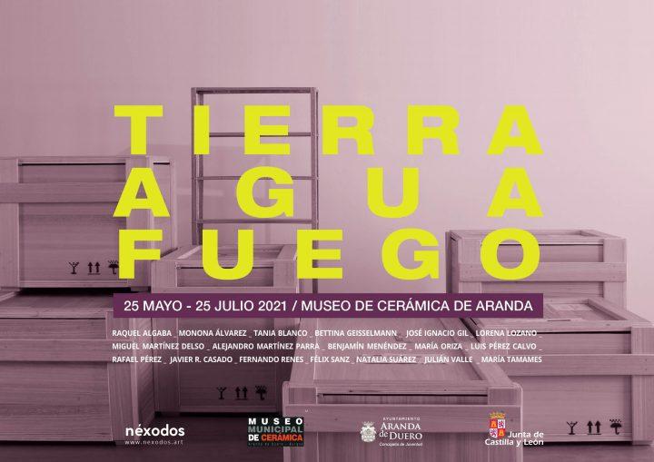 «Tierra, agua, fuego» en el Museo de Cerámica de Aranda