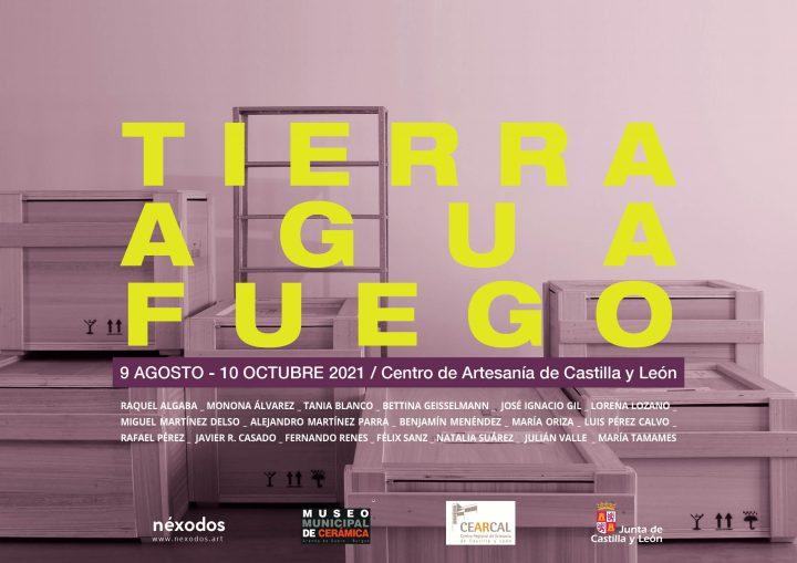 «Tierra, agua, fuego» en el Centro de Artesanía de Castilla y León